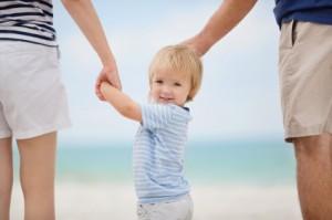 Barn, samvær, skilsmisse, foreldreansvar, skifte